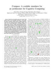 Compass: A scalable simulator for an architecture for Cognitive ...