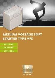 MEDIUM VOLTAGE SOFT STARTER TYPE VFS - Mocotech GmbH