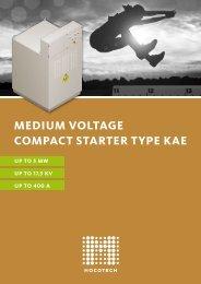 medium voltage compact starter type kae - Mocotech GmbH