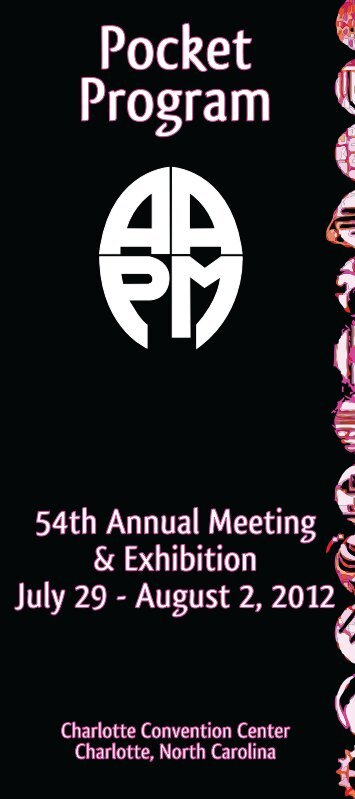 meetings - The American Association of Physicists in Medicine