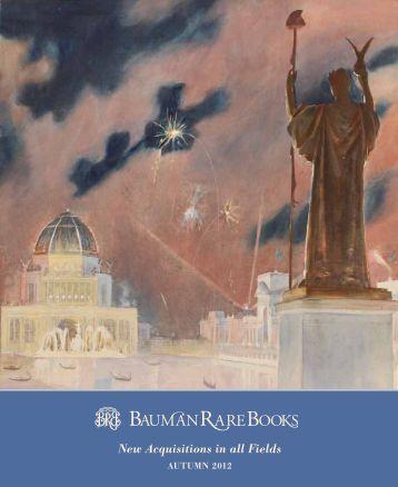 Catalogue - Bauman Rare Books