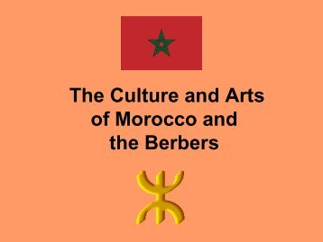 The Berbers of Morocco - The Center for Middle Eastern Studies