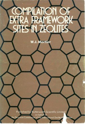 Compilation of Extra Framework Sites in Zeolites - IZA Structure ...
