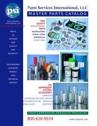 Parts Services International Catalog - eCompressedair