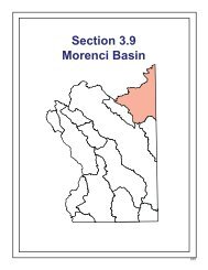 Section 3.9 Morenci Basin - Arizona Department of Water Resources