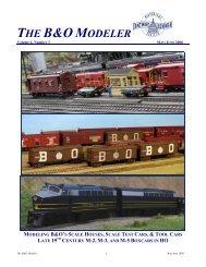 B&O Modeler - Baltimore and Ohio Railroad Historical Society