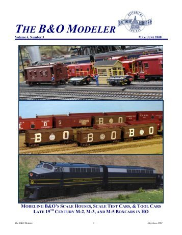 B&O Modeler - Baltimore and Ohio Railroad Historical Society