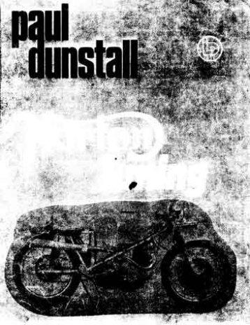 Page 1 Page 2 NORTON TUNING bv Paul Dunstall © LÜDGEMAHK ...