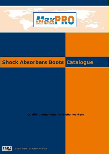 Shock Absorbers Boots Catalogue - Maxproshocks.com