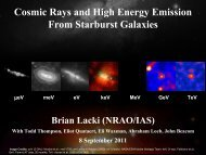 Cosmic Rays and High Energy Emission From Starburst Galaxies