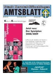 Nummer 22 Donnerstag, 29. Mai Jahrgang 2008 - Stadt Korntal ...