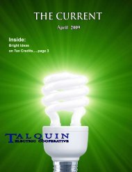 THE CURRENT - April - Talquin Electric Cooperative