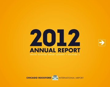 2012 Annual Report - Chicago Rockford International Airport