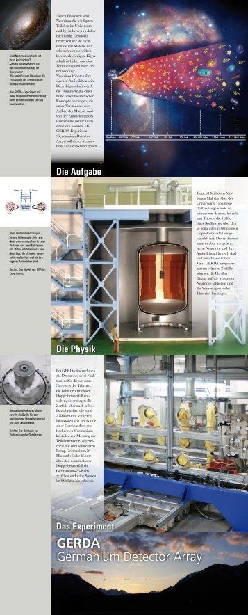 Germanium Detector Array - Max-Planck-Institut für Kernphysik