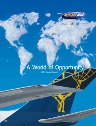 A World of Opportunity - Atlas Air, Inc.