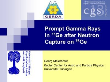 Prompt Gamma Rays in 77Ge after Neutron Capture on 76Ge