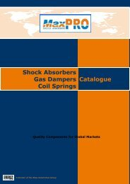 Shock Absorbers Gas Dampers Coil Springs Catalogue - Atlas - index