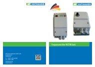 Produktinformation VECTOR basic - MSF-Technik