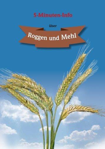 Roggen und Meh - Bayerischer Müllerbund eV
