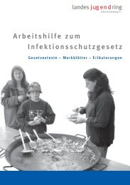 Arbeitshilfe zum Infektionsschutzgesetz - Landessportverband ...
