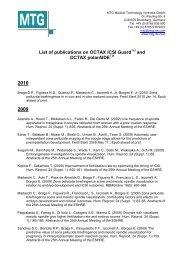 List of publications on OCTAX ICSI Guard and OCTAX polarAIDE