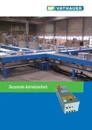 Produktkatalog der dezentralen Antriebstechnik - MSF-Technik