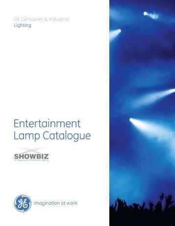 Entertainment Lamp Catalogue - Ltv