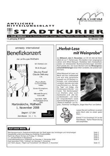 Nacht der offenen Kirchen - Stadt Müllheim