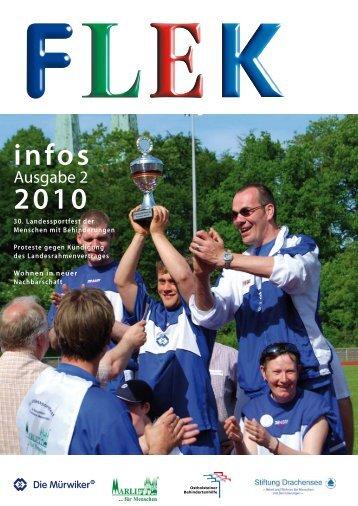 infos 2010 - Die Mürwiker Werkstätten
