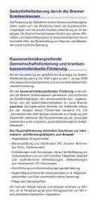 Selbsthilfeförderung in Bremen und Bremerhaven - Gesundheitsamt ... - Seite 2