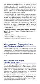 Selbsthilfeförderung in Bremen und Bremerhaven - Gesundheitsamt ... - Seite 3