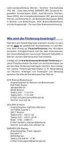 Selbsthilfeförderung in Bremen und Bremerhaven - Gesundheitsamt ... - Seite 4
