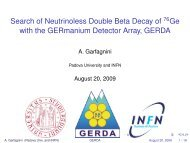 Search for neutrinoless double beta decay of Ge