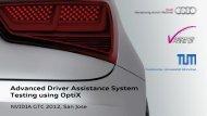 Advanced Driver Assistance System Testing Using OptiX - Nvidia