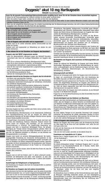 akut 10 mg Hartkapseln - Mundipharma