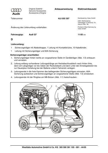CAVO CABLE ORIGINALE VOLKSWAGEN AUDI SEAT