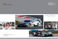 Audi collection Motorsport Audi quattro GmbH