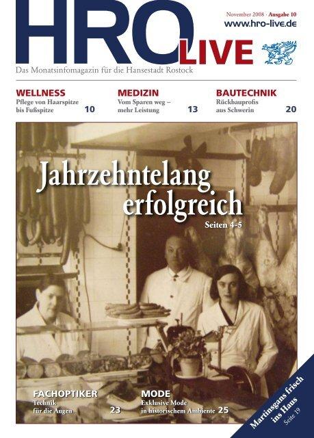 November 2008 - HRO·LIFE - Das Magazin für die Hansestadt ...