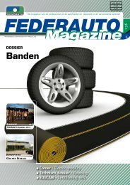 Banden - Federauto Magazine