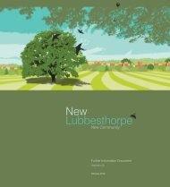 Lubbesthorpe New - Blaby District Council