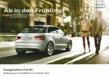 Garage ]ohann Frei AG - Garage Johann Frei AG