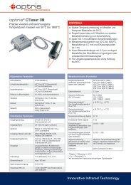 Datenblatt Infrarot-Thermometer optris CTlaser 3M - mu:v