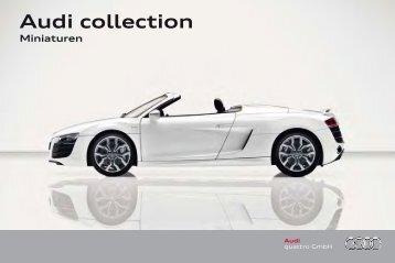 Audi collection Miniaturen