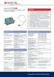 Datenblatt Pyrometer optris CT 1M/2M - mu:v