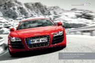 The Audi R8 Coupé and Spyder Pricing and Specification Guide