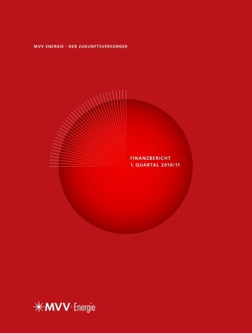 finanZbEricht 1. Quartal 2010/11 - MVV Investor