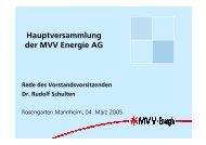 Vortragsfolien - MVV Investor