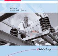 Auf Kurs: Erfolg durch Effizienz - MVV Investor
