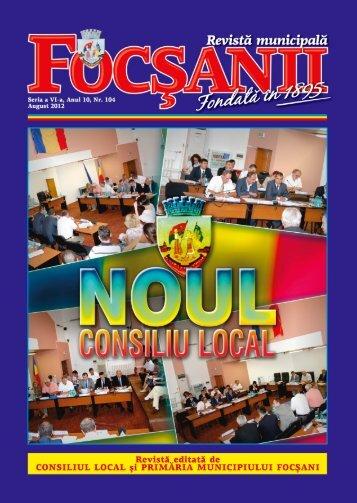 nUMErELE DE TELEFon (inTErioarE) - Primaria Municipiului Focsani