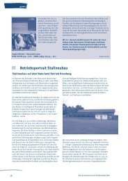 Betriebsportrait Stallneubau - Naturland